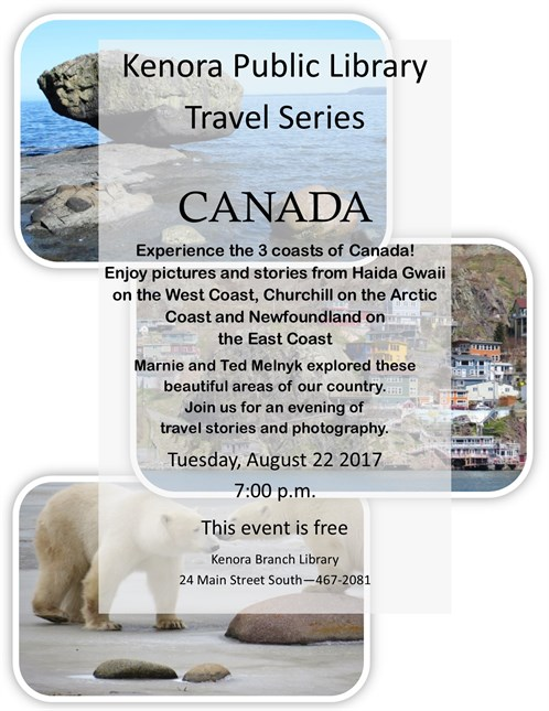 Canada August 2017 Travel Series Poster